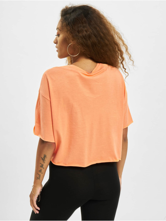 Only T-Shirty Onlearth Life JRS Short pomaranczowy