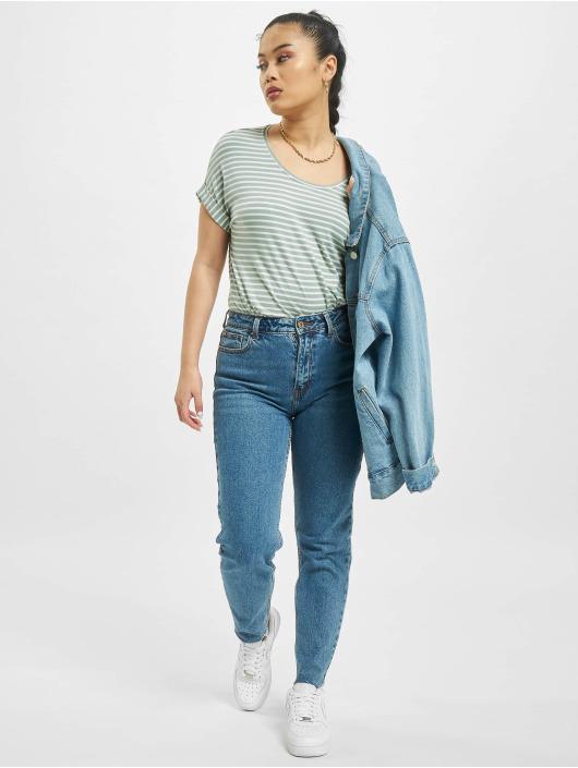 Only T-Shirty onlMoster Stripe turkusowy