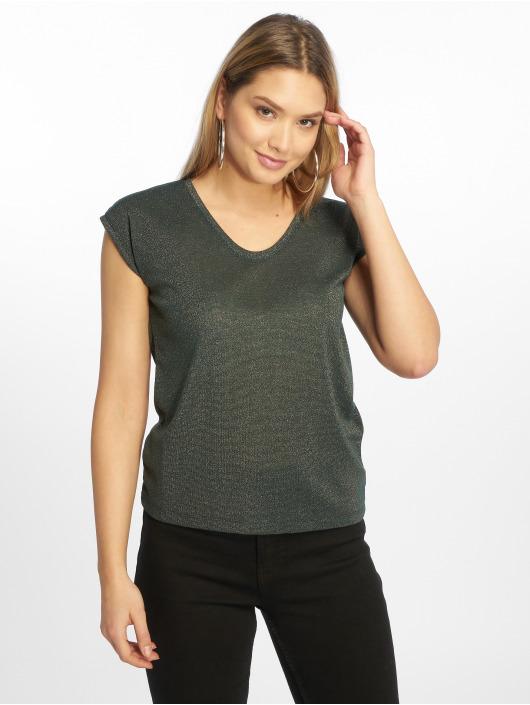 Only T-Shirty onlSilvery Lurex zielony