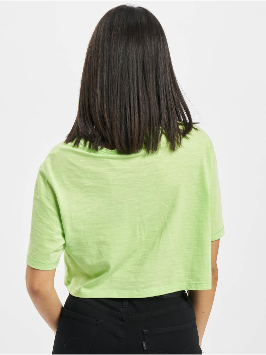 Only T-Shirty onlMadrid Life Cropped zielony