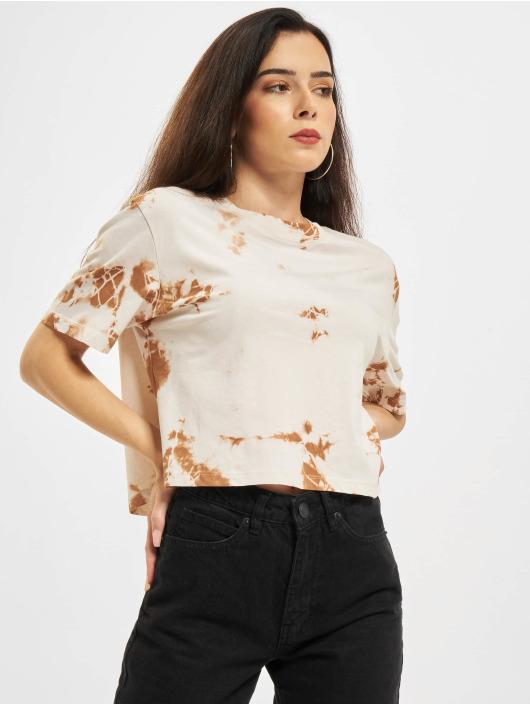 Only T-skjorter Onlfine Life JRS Short beige
