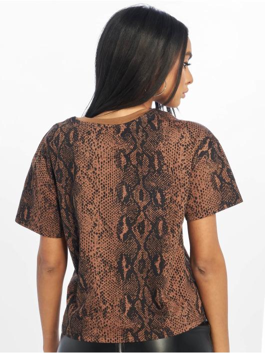 Only T-skjorter onlFanimal brun