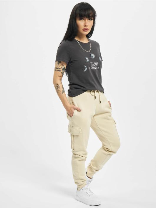 Only T-skjorter onlKita Life Reg Moon grå