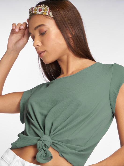Only T-skjorter onlVic Solid Woven grøn