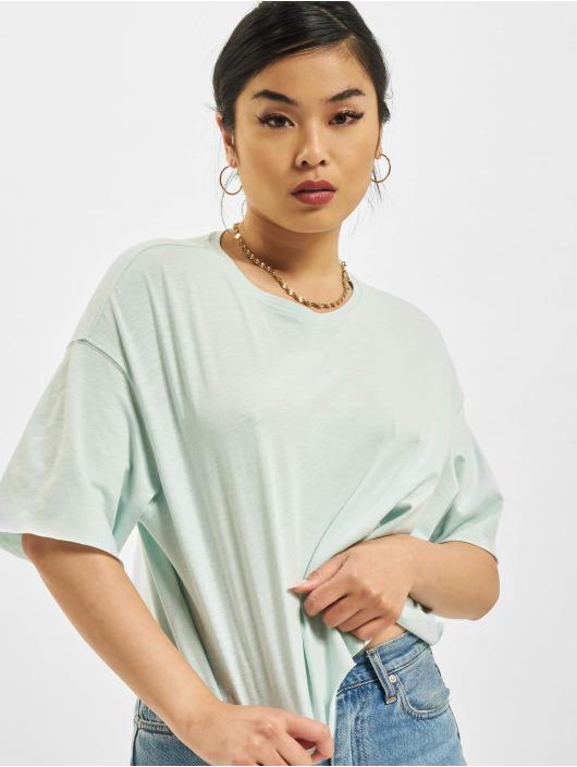 Only T-skjorter Onlearth Life JRS Short grøn