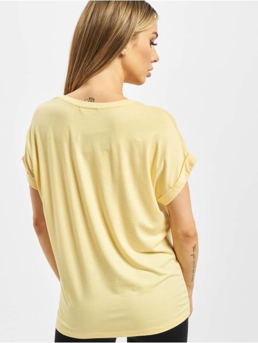 Only T-skjorter Onlmoster gul