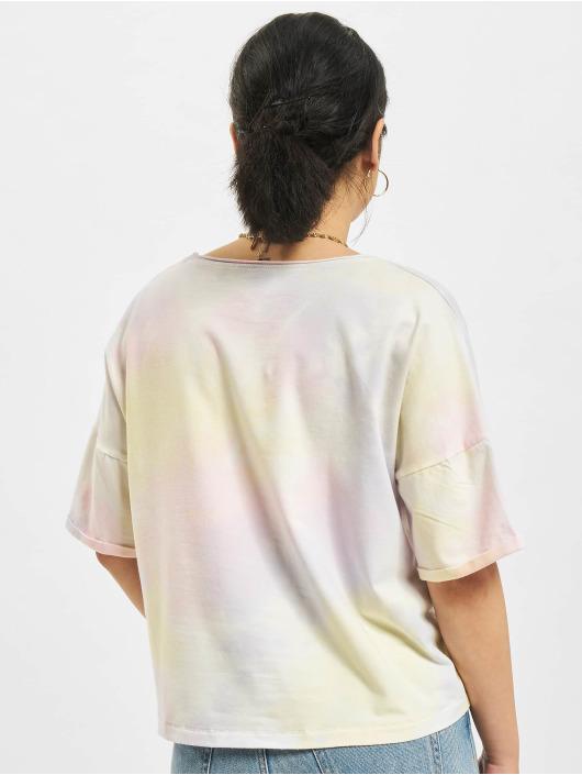 Only T-skjorter Zoey Life Tie Dye Denim gul