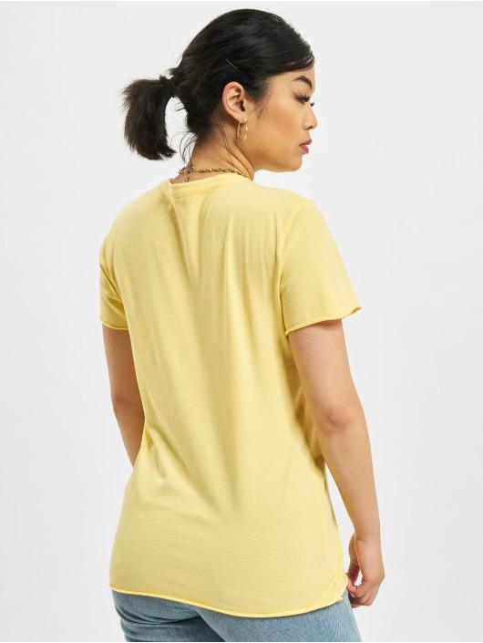 Only T-skjorter Fruity Life gul
