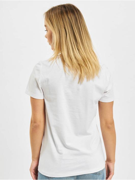 Only T-skjorter Lana Life Photo Top Box hvit