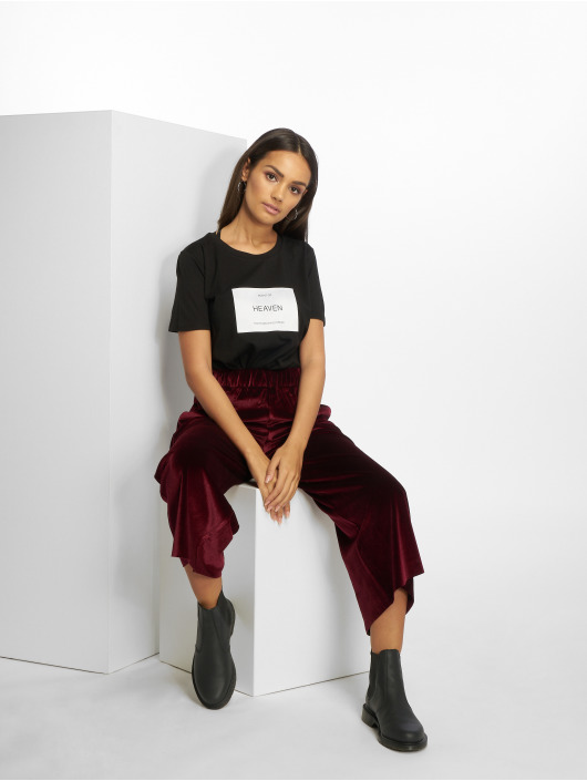 Only T-skjorter wfLux svart