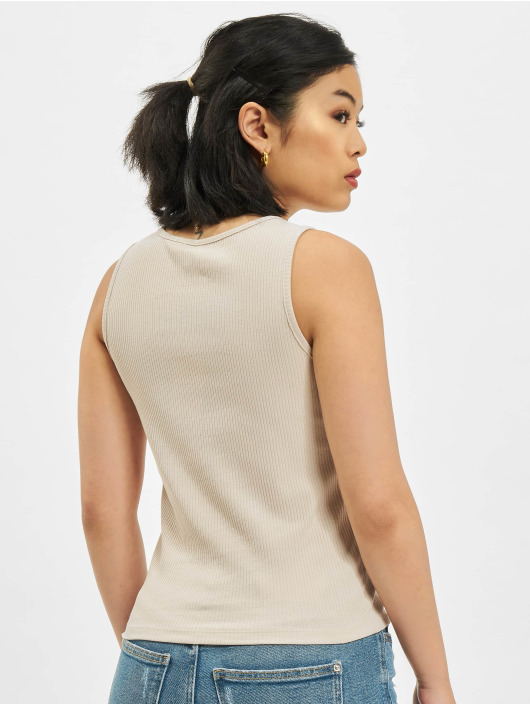 Only Tank Tops onlNuvella Life beige