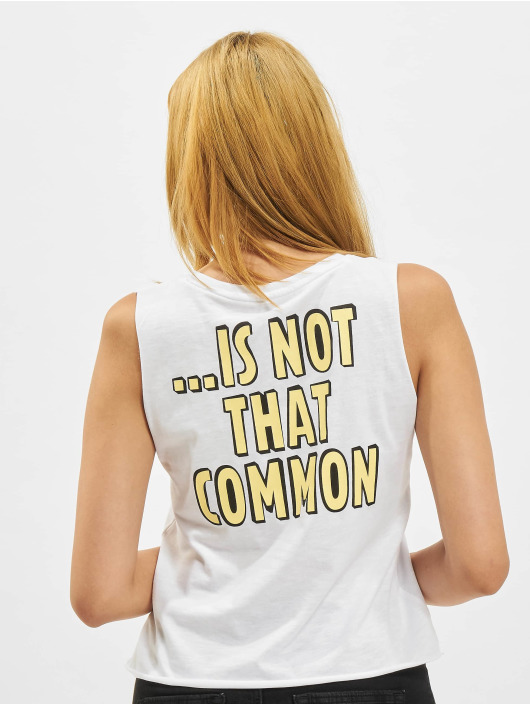 Only Tank Tops onlAda Life S/L Text bialy
