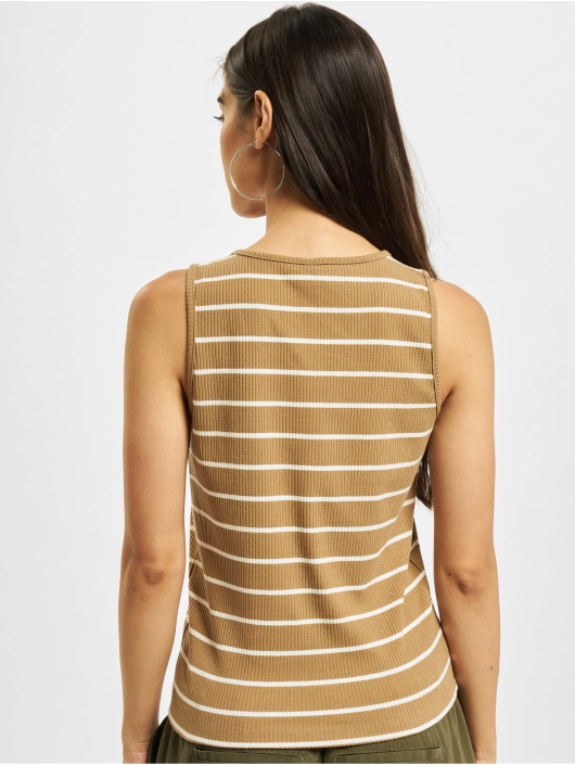 Only Tank Tops onlNuvella Life brown