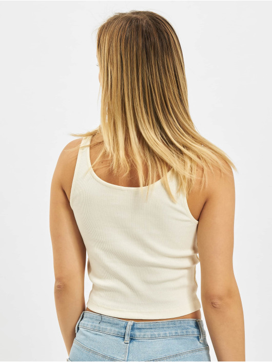Only Tank Tops Nessa Life white