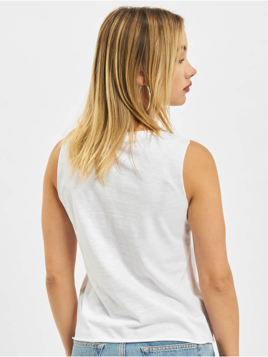 Only Tank Tops onlAda Life S/L Text Box white