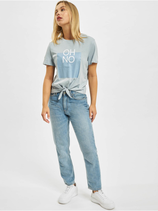Only Top onlSilly Life Knot blau