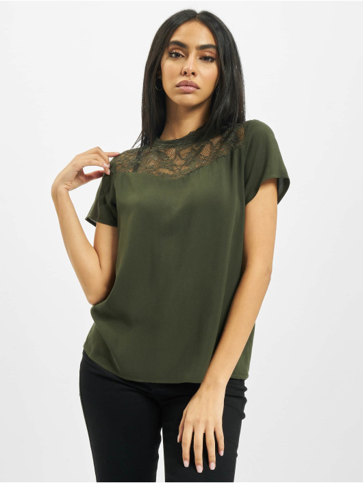 Only Top onlFirst Lace Noos green