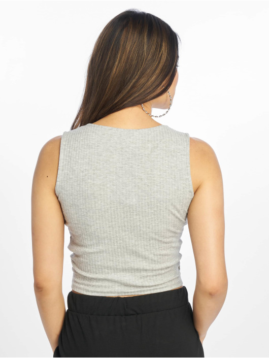 Only Top onlTine Knot grey
