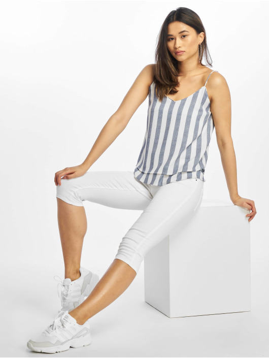 Only Top onlSensa Stripe Singlet indigo