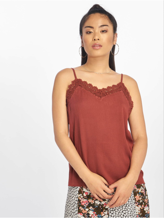 Only Top nlEmma Strap Lace marrón