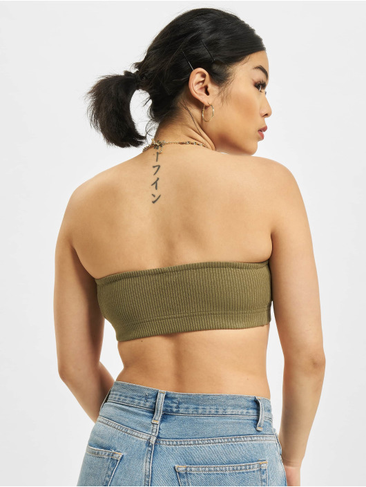 Only Top Onlcorinna Life JRS Bandeau oliven