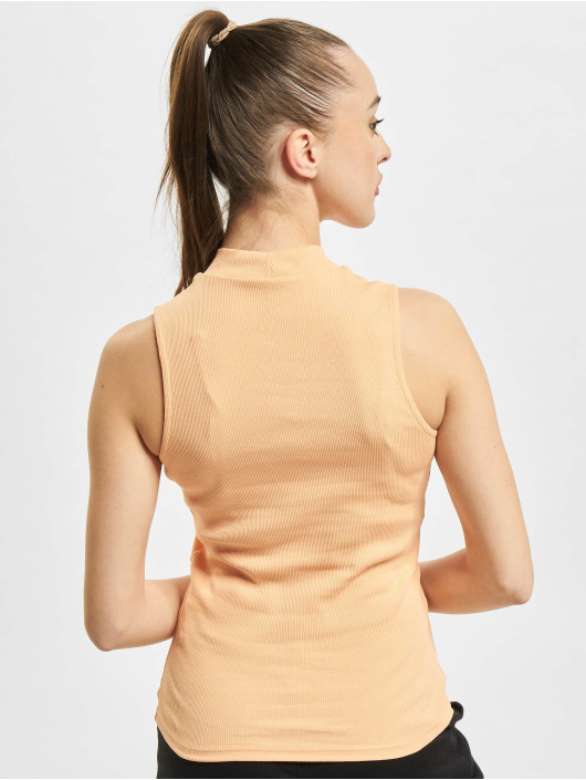 Only Top onlNessa Life Highneck Rib orange