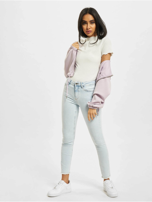 Only Top onlEmma Highneck white
