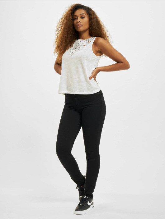 Only Top onlIsa JRS Blouse white