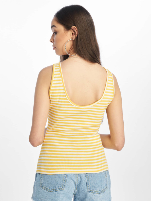 Only Top onlBella Deep Back yellow