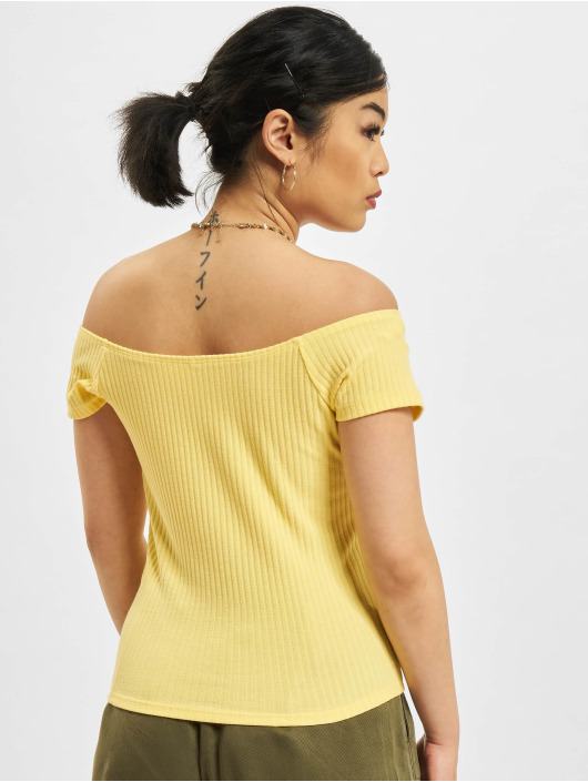 Only Top Nella Off-Shoulder yellow
