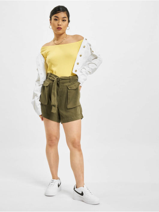 Only Topper Nella Off-Shoulder gul