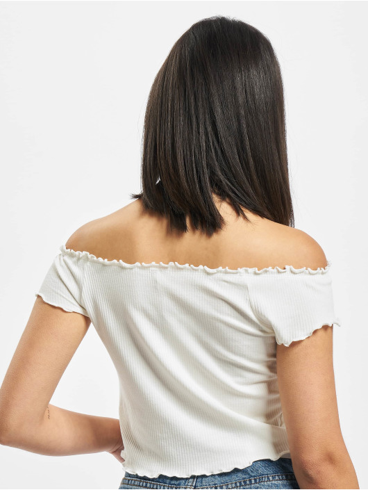 Only Tops onlNaroma Off Shoulder bialy