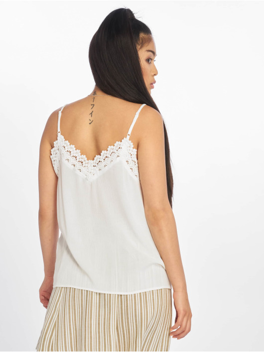 Only Tops onlEmma Strap Lac bianco