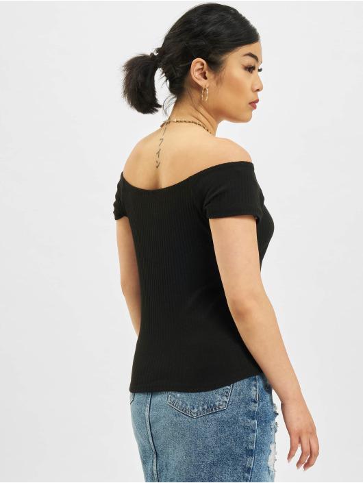Only Tops Nella Off-Shoulder czarny