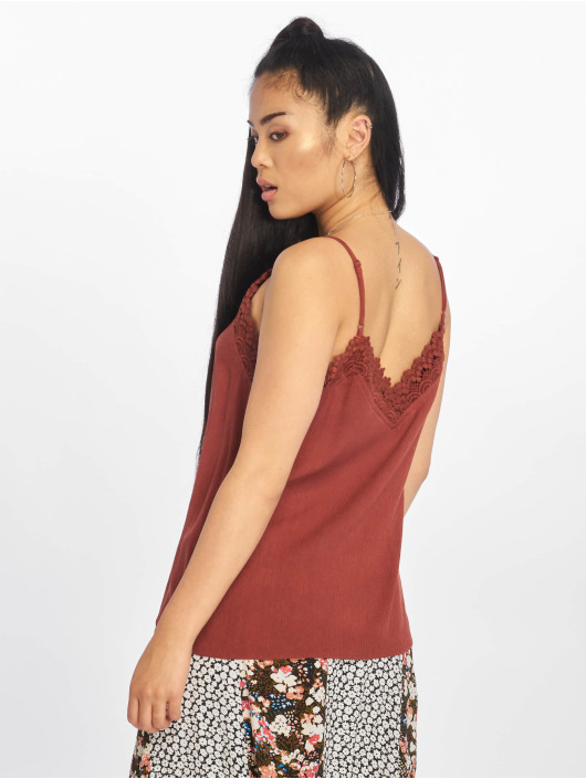 Only Tops nlEmma Strap Lace marrone