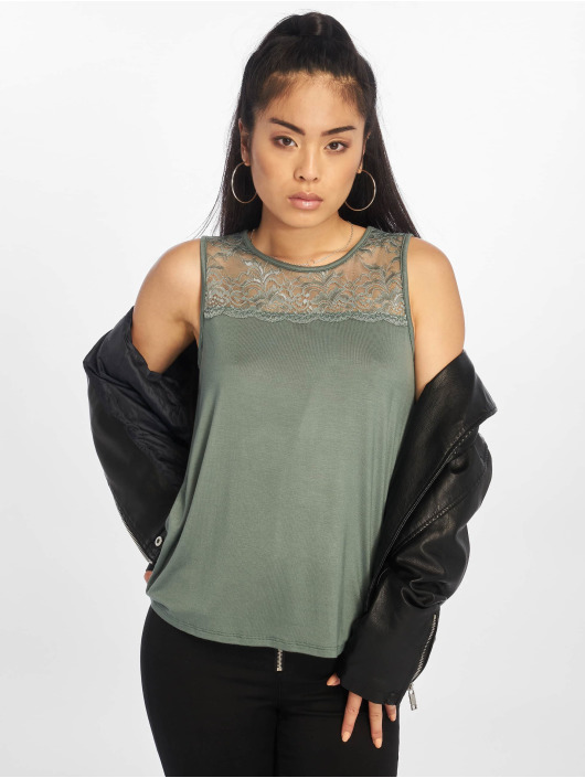 Only Tops onlVic Venice Lace verde