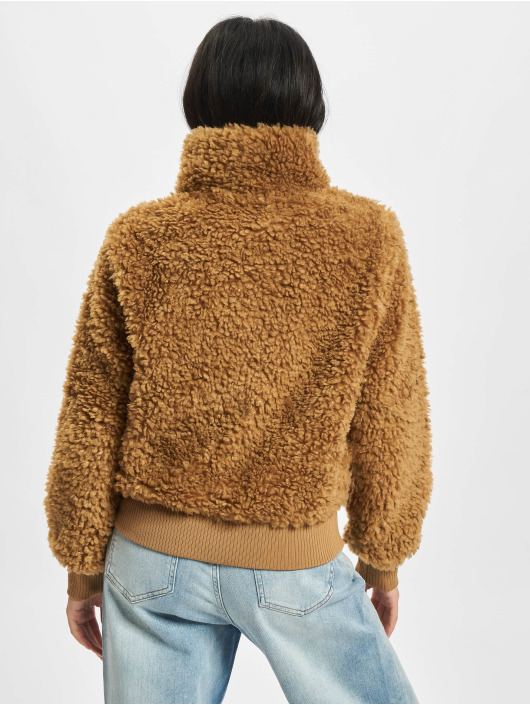 Only Transitional Jackets Ellie Sherpa brun