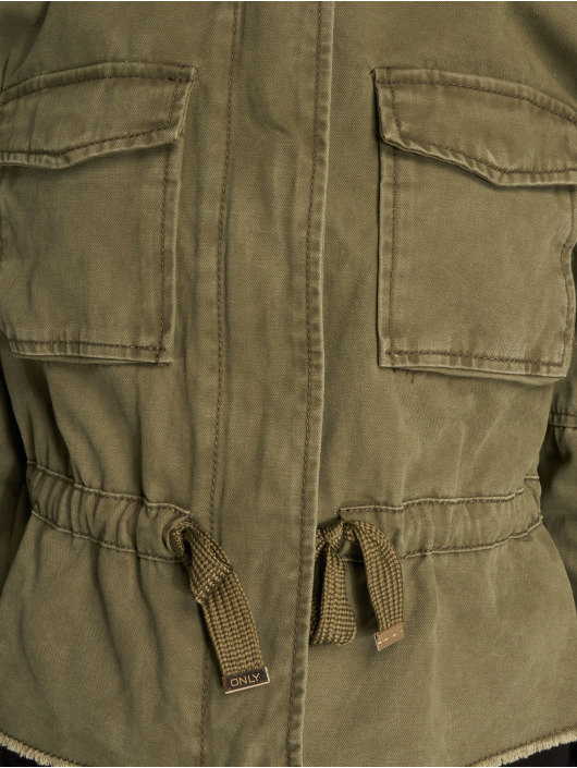 Only Transitional Jackets onlArianna Short Utility khaki