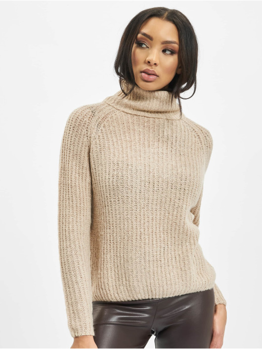 Only trui onlVega Wool Knit beige