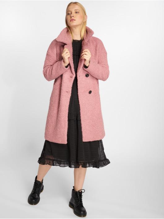 Only Ulkotakit onlPaloma Boucle Wool roosa