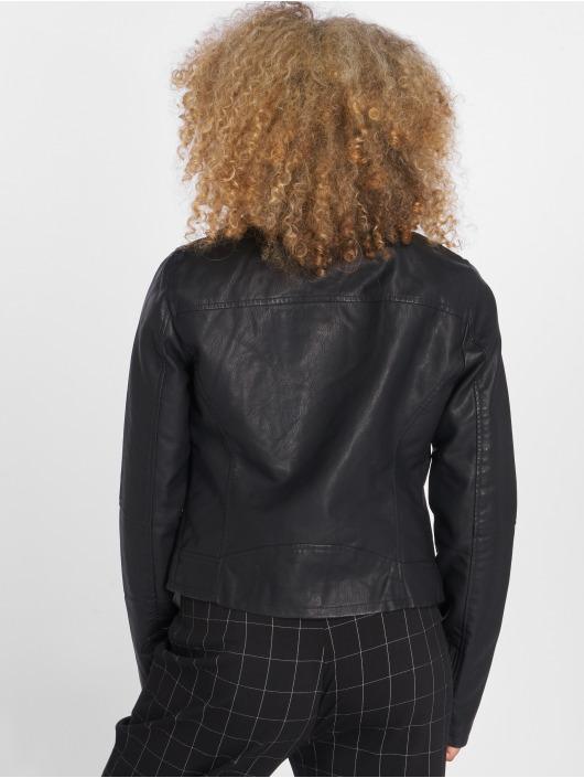 Only Veste & Blouson en cuir onlVigga noir