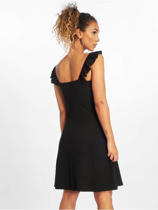 Only Vestido onlTine Rib negro