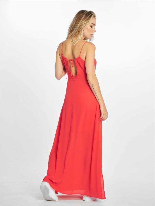 Only Vestido onlCana Strap Open Back rojo