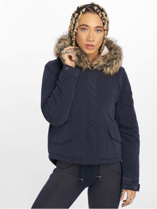 Only Winter Jacket onlNew Skylar blue