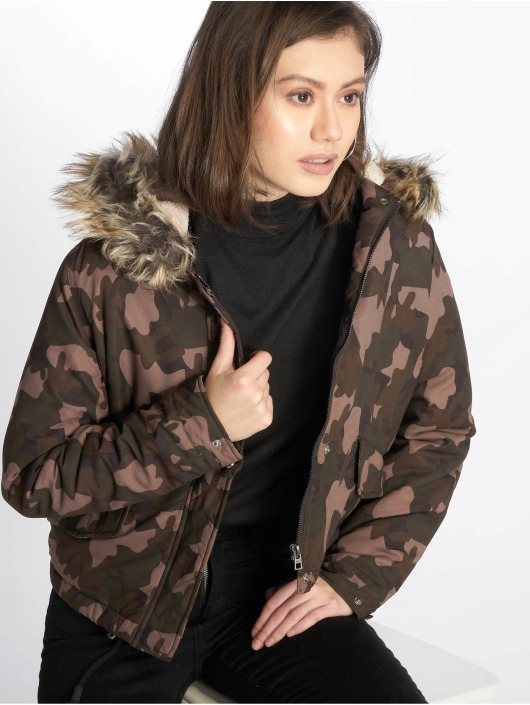 Only Winter Jacket onlNew Skylar camouflage