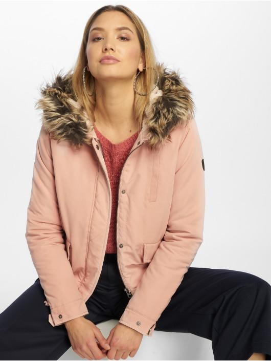 Only Winterjacke Skylar rosa