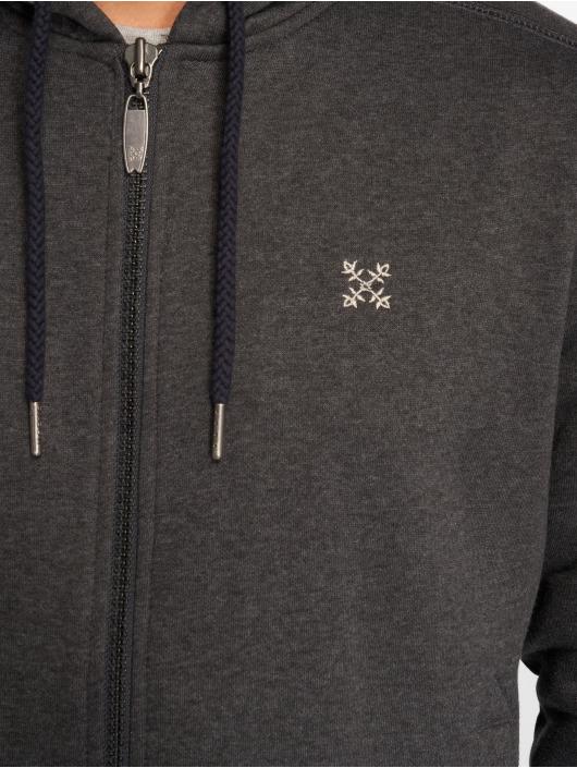 Oxbow Zip Hoodie K2selva grå
