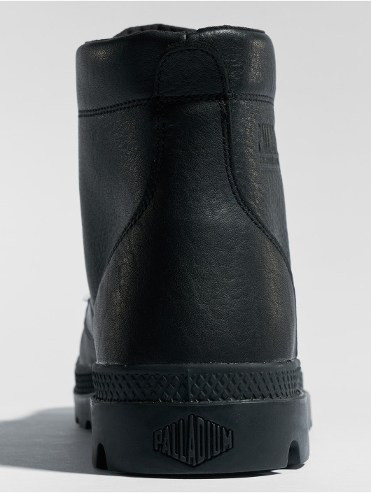 Palladium Čižmy/Boots Pallabrousse Leather èierna