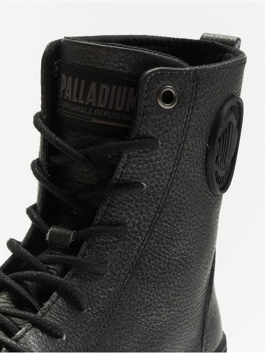 Palladium Boots Pallabosse Off Lea black