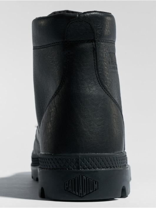 Palladium Boots Pallabrousse Leather black